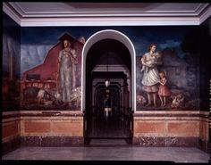 Kansas Pastoral, another mural in the Capitol by the same guy who did Tragic Prelude.