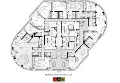 Penthouse Floor Plans | Trump Floor Plan 89th Floor Living Like the Trumps