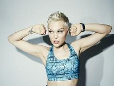 Work out with Jessie J