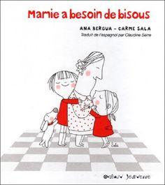 Mamie a besoin de bisous Texte d'Ana Bergua, illustré par Carme Sala Océan Jeunesse