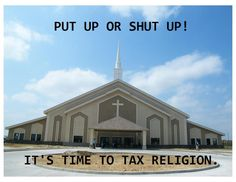 The world's richest business, especially the Mormon (LDS) corporation. Tax them and repair our economy!!!