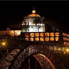 Nights&Lights #visitporto #followporto -- Noites&Luzes #visitporto #followporto  Credits: @velichko_yulya #igers_porto #igersportugal #igersopo #igers_opo #ig_travel #travelgram #igers_travel #travel #explore  #traveling #momondo #natgeotravel #viagem #tourism #turismo #visitportugal #travelbloggers #traditional #lonelyplanet #porto #beautifuldestinations #vsco #citybreak  #worldheritage #bridge #monastery #river #night by visitporto
