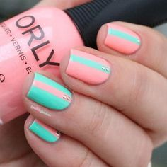 Pin for Later: 60 Manicures That Prove Striped Nail Art Is Definitely Having a Moment