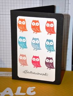 Susie la Grolle and owls