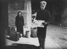 Jim Jarmusch on the film set of Stranger Than Paradise, 1984.