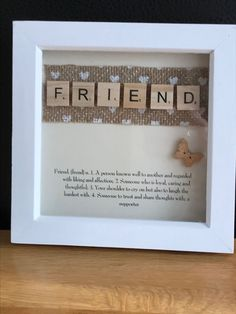 Creative & Easy DIY Shadow Box to Surprise Beloved Ones , Family , Baby & Military – Suzi Hansen Creative & Easy DIY Shadow Box to Surprise Beloved Ones , Family , Baby & Military Creative DIY Shadow Box to Surprise Beloved Ones & Beautify Home Interior Scrabble Letter Crafts, Scrabble Art, Scrabble Tiles, Scrabble Frame, Craft Gifts, Diy Gifts, Crafts To Make, Fun Crafts, Cadre Diy