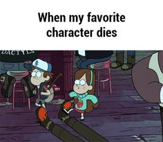 When my favorite character dies GIF