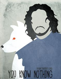 You know nothing by nesoi, via tumblr