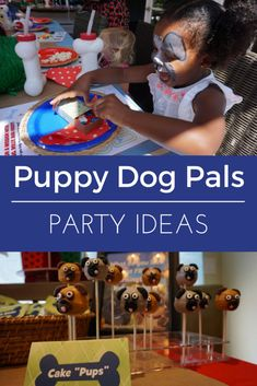 Check out these adorable Puppy Dog Pals Party Ideas to help you celebrate #DisneyJuniorFRiYAY with your little munchkins all summer long. AD #partyideas #toddlerbirthday #disneyjunior #puppydogpals #puppyparty