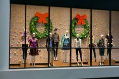 J.Crew, Eaton Centre - Christmas Windows 2012