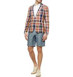 Gant Rugger blazer + Dolce & Gabbana shirt + J.Crewshorts + O'Keeffe shoes