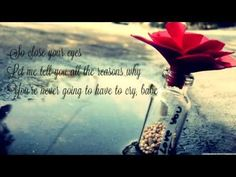 ▶ Close Your Eyes - Michael Buble (Lyrics Video HD) - YouTube