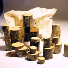 wood block toys. So simple its beautiful.