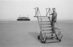 Hovercraft terminal, Calais - France 1989 - John Vink