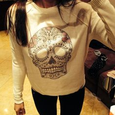 "So Lynlie... Dia de Los muertos! ""ASOS sweater, worn ONCE""! #poshmark #fashion #shopping #style #ASOS #Sweaters"