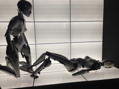 Robots from Chris Cunningham-directed video for 'All is Full of Love'