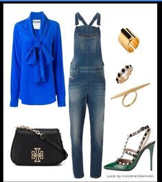 As mil e uma caras de uma jardineira jeans!Veja post completo em www.carolinedemolin.com.br. #moda #fashion #tendencias #trend #personalstylist #personalstylistbh #consultoriademoda #consultoriadeimagem #imagem #identidade #fashionblogger #looks #lookdodia #lookoftheday #estilo #style #diesel #moschino #valentino #toryburch #michaelkors #mariadolores www.carolinedemolin.com.br