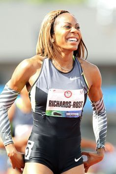 Sanya Richards-Ross.  Amazing comeback from a disappointing 2008 Olympic run to win the women's 400m in London 2012