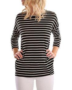 Coutgo Woman's Sexy Long Sleeve Dots Print Back Zipper Blouse Shirts Tops at Amazon Women's Clothing store: