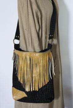 Skrawek Natury - two leathers bag Fanny Pack, Bags, Etsy, Fashion, Hip Bag, Handbags, Moda, Fashion Styles, Waist Pouch
