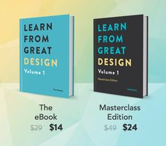 Improve Your Eye for Design with Learn from Great Design Volume 1 eBook - only $14! - MightyDeals