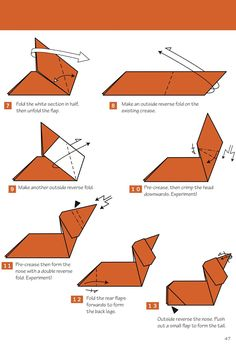 Origami Anywhere: Why Throw It Out When You Can Fold It Up? Origami Anywhere: Warum rausschmeißen, wenn man es zusammenklappen kann? Origami Mouse, Origami Yoda, Kids Origami, Origami Dragon, Origami Fish, Paper Crafts Origami, Origami Folding, Origami Animals, Origami Stars
