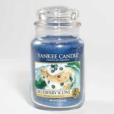 Yankee Candle - Blueberry Scone is heavenly! mmmm