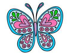 Mariposas bonitas rosadas - Imagui