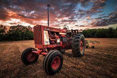 International Harvester Farmall 806 Turbo Diesel Tractor by Bradley P Smith