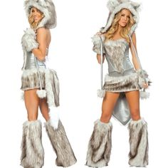 J. Valentine Wolf Outfit - Cute Sexy Costumes Made in the USA!