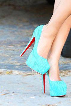 shoes!! bright color