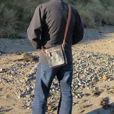 Genuine leather messenger for him is truly modern bag. Bradley Mountain, My Bags, Messenger Bag, Backpacks, Leather, Black, Instagram, Fashion, Moda