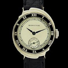 Hamilton Watch - THE SPUR   - Art Deco gold watch