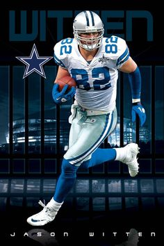 Jason Witten - This guy is a beast!  Seeing him play always reminds me of the Tom Landry days.