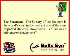 Give your answer at our FB page www.facebook.com/hitbullseyedotcom Crack CAT 2013 with CAT Test Papers of Bulls Eye.  Buy it at http://mba.hitbullseye.com/CAT-Test-Papers