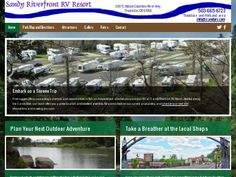 Sandy Riverfront RV Resort Rv ParksOregonResorts