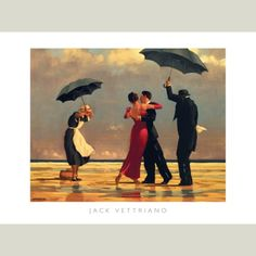 Jack Vettriano--another family tradition to get when you get a house of your own--or move in with a partner/spouse!