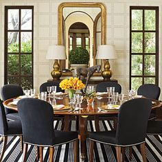 Decorating a High Definition Dallas Home | A Glamorous Feel | SouthernLiving.com by Kirsten Kelli, LLC.