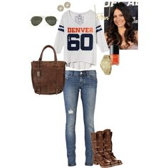 A fashion look from August 2012 featuring Victoria's Secret t-shirts, Ksubi jeans and Steve Madden boots. Browse and shop related looks.