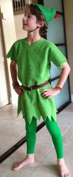 Peter Pan Inspired toddler/child Costume by DlightfullyDarlingD $30.00 Grayu0027s costume  sc 1 st  Pinterest & Kids Peter Pan costume   Sewing   Pinterest   Peter pan costumes ...