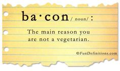 Bacon definition