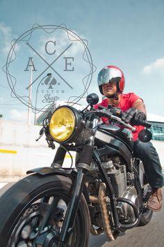 Suzuki GS500 Cafe racer 4 by Juan Sotomonte / 500px