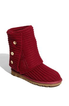 I know, I know, Uggs are overplayed. But the red is a statement maker and I'm obsessed.