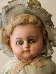 Seriously? You don't like antique dolls?  Maybe at one she was cute.
