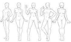 19 new ideas art reference poses woman models Female Pose Reference, Body Reference Drawing, Drawing Reference Poses, Manga Posen, Poses Manga, Girl Pose, Drawing Body Poses, Body Sketches, Woman Sketch
