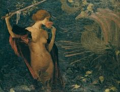 Edmond-Francois Aman-Jean - Venezia Bella, Regina del Mare, 1893