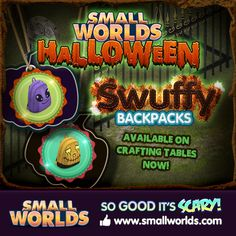 New Swuffy Backpacks now available to craft.