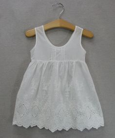 White Eyelet Dress - Toddler & Girls | Daily deals for moms, babies and kids