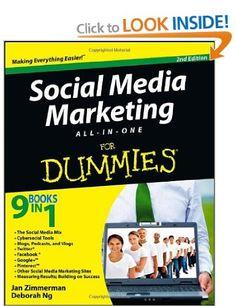 Jan Zimmerman and Deborah Ng - Social Media Marketing All-in-One for Dummies