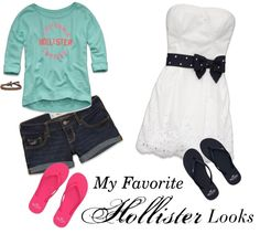 """""""My Favorite Hollister Outfits"""" by sydneyms on Polyvore"""